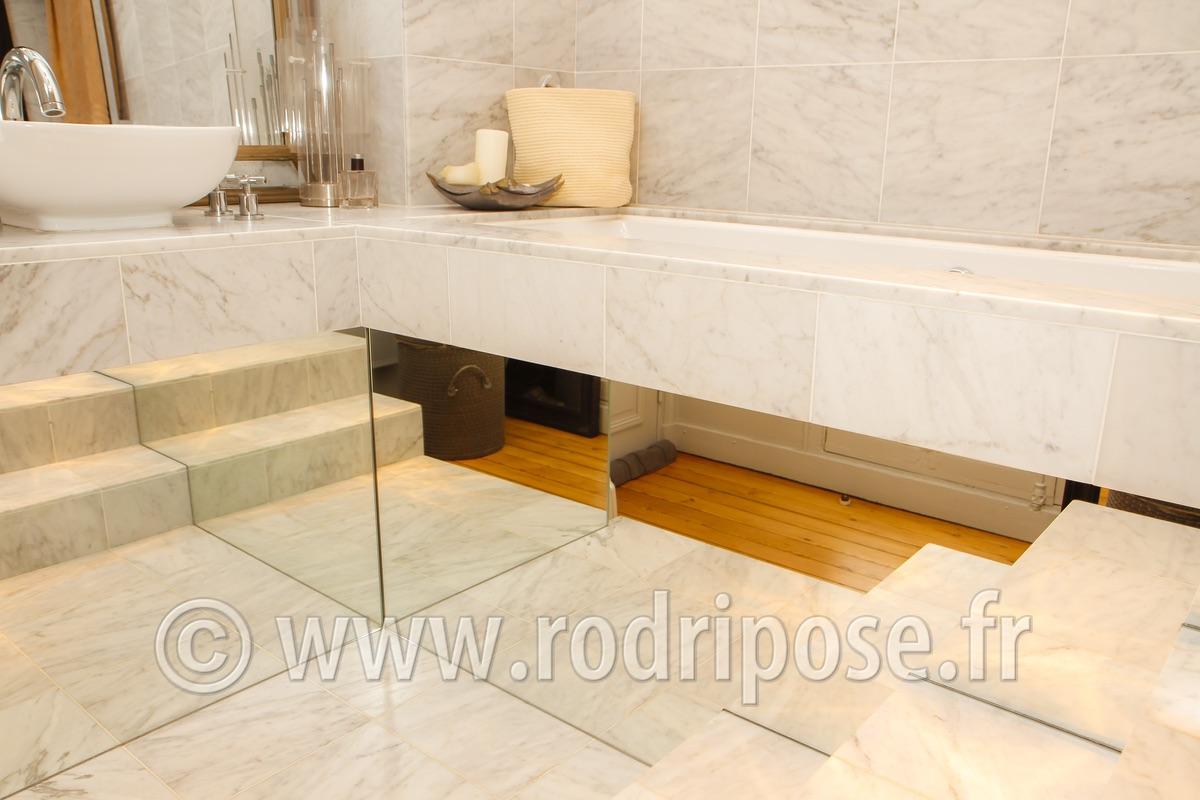 Portfolio rodri pose for Pose miroir salle de bain